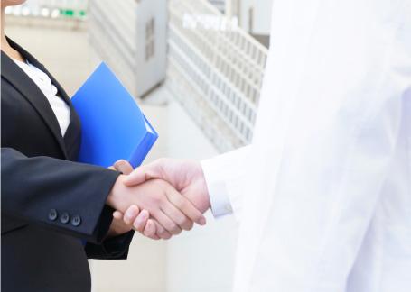 医院開業をサポートするイメージ